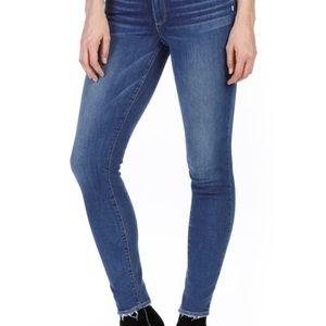 Paige Huxton Ultra Skinny Raw Hem Skinny Jeans